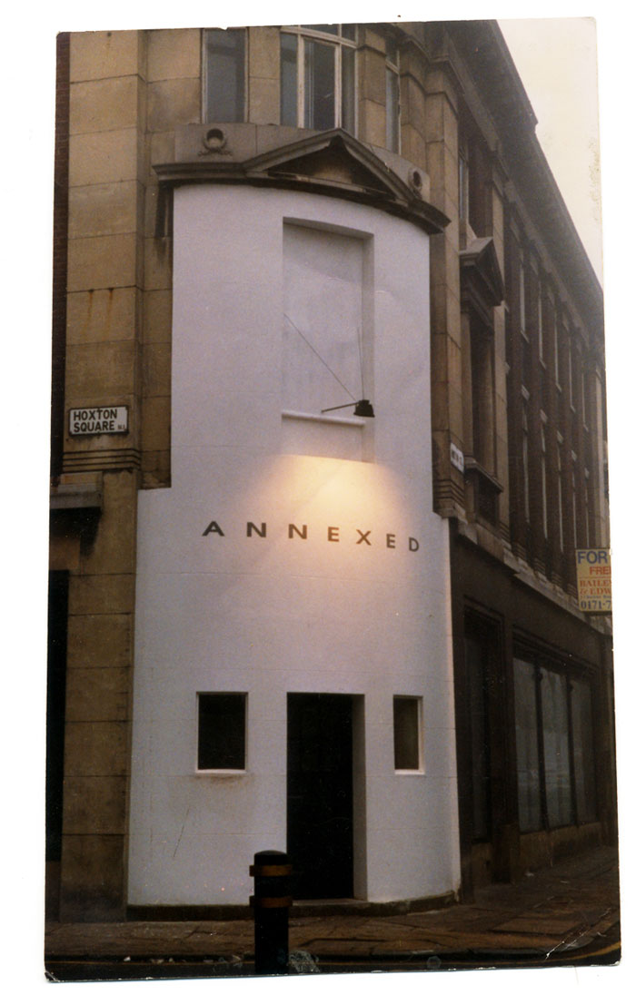 Annexed Gallery, Hoxton 1995-1997. Michael Croft.